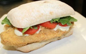 OLD BAY® and Corn Crusted Tilapia Sandwich